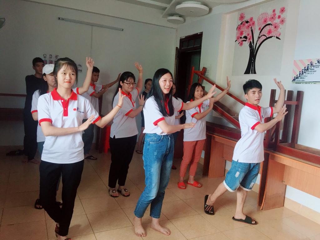 Phòng sinh hoạt chung của công ty Du Học Tây Nguyên