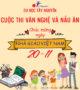 Hội thi văn nghệ và nấu ăn – Chào mừng ngày nhà giáo Việt Nam