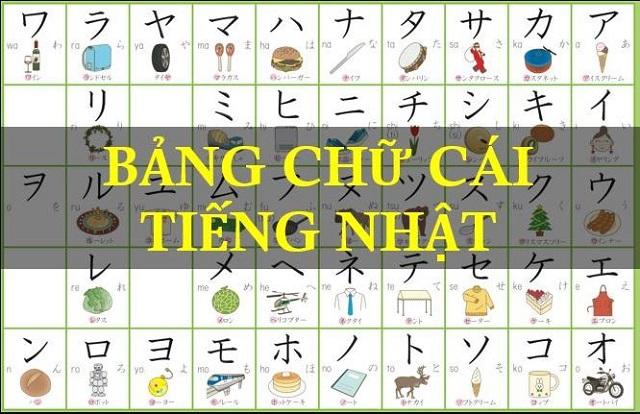 Cách viết bảng chữ cái tiếng Nhật 1