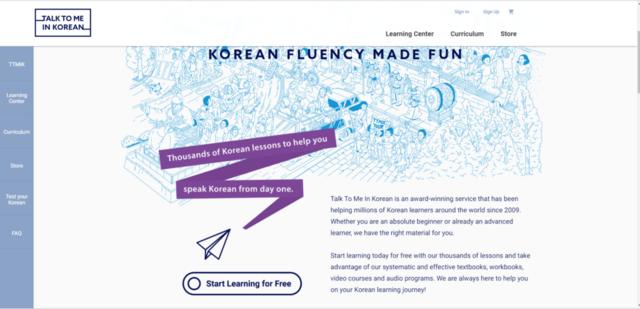 trang web học tiếng Hàn 3